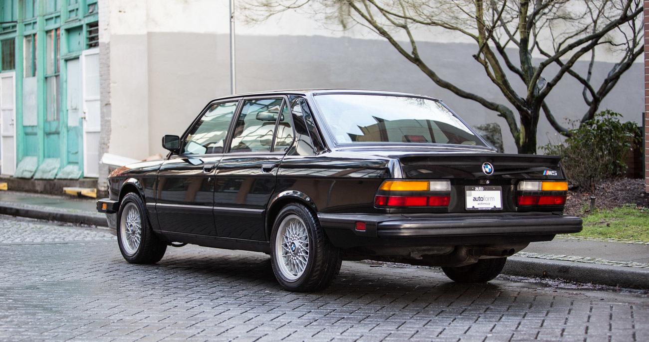 BMW M Autoform - 1988 bmw m5