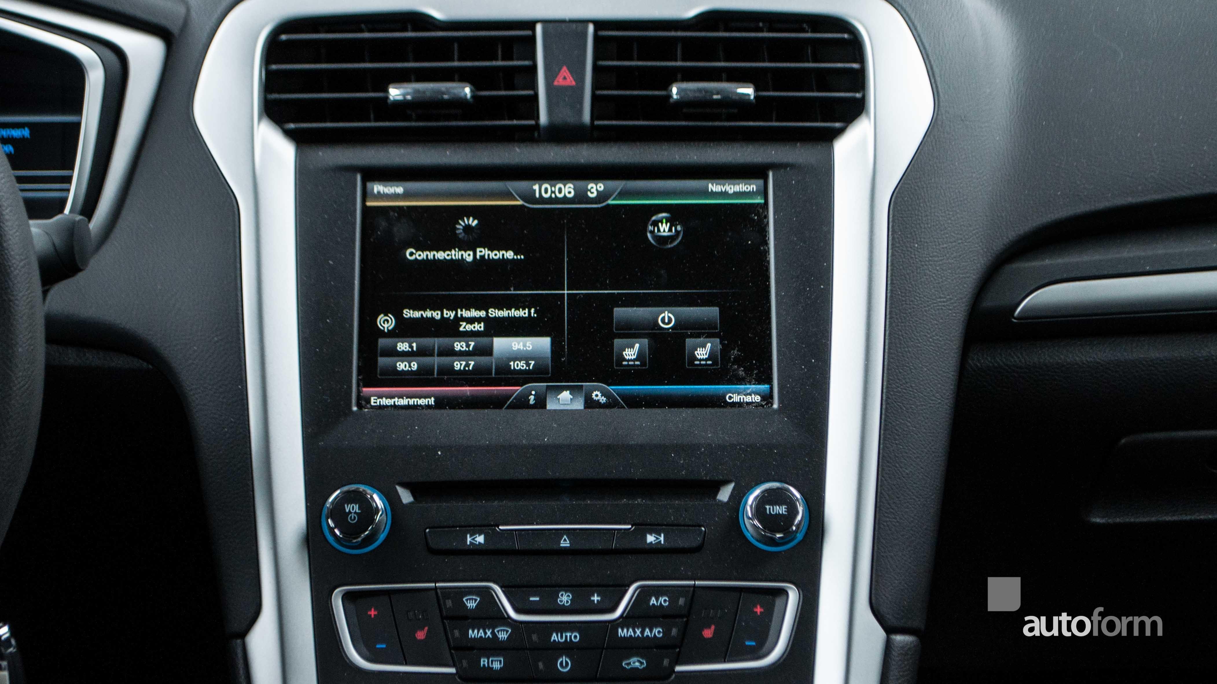 2016 Ford Fusion Autoform