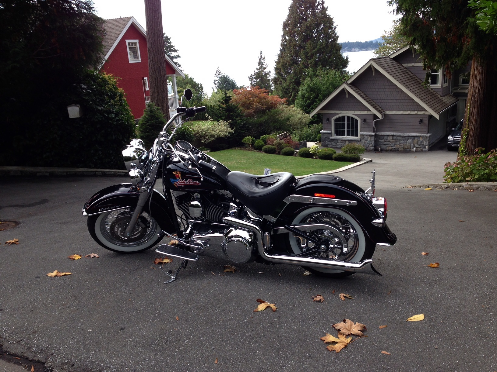 Harley Davidson Softail Deluxe Parts