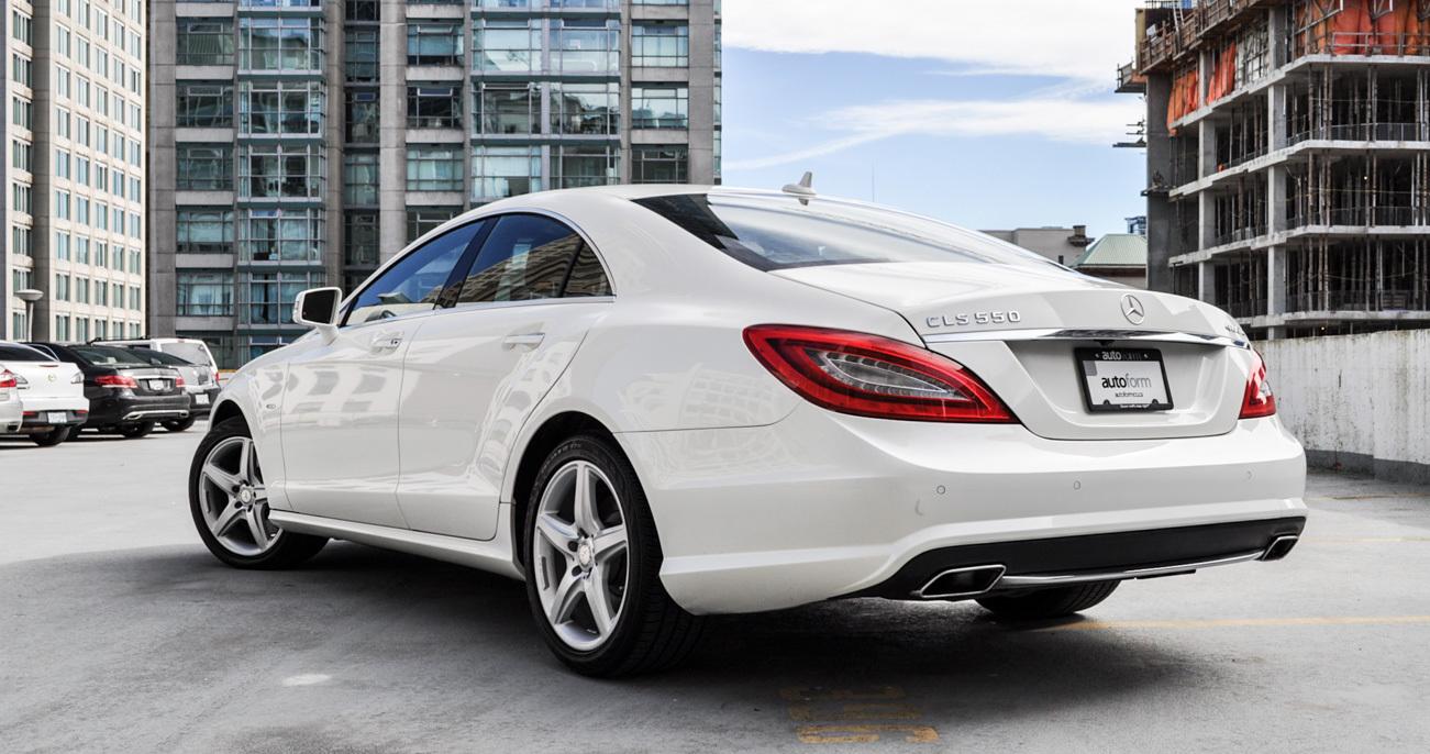 2012 mercedes benz cls550 autoform for Mercedes benz vancouver