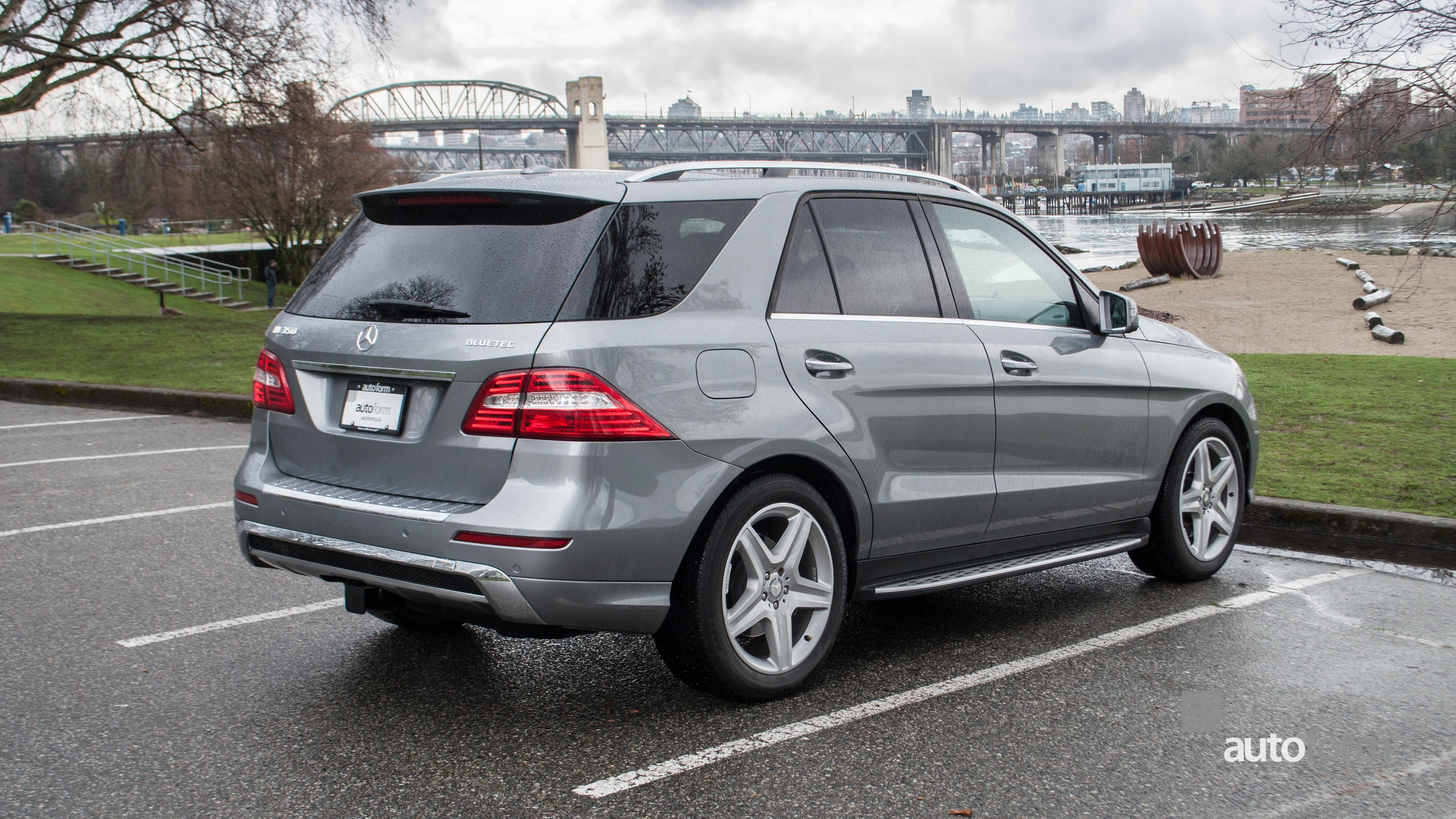 2015 mercedes benz ml350 bluetec 4matic autoform. Black Bedroom Furniture Sets. Home Design Ideas