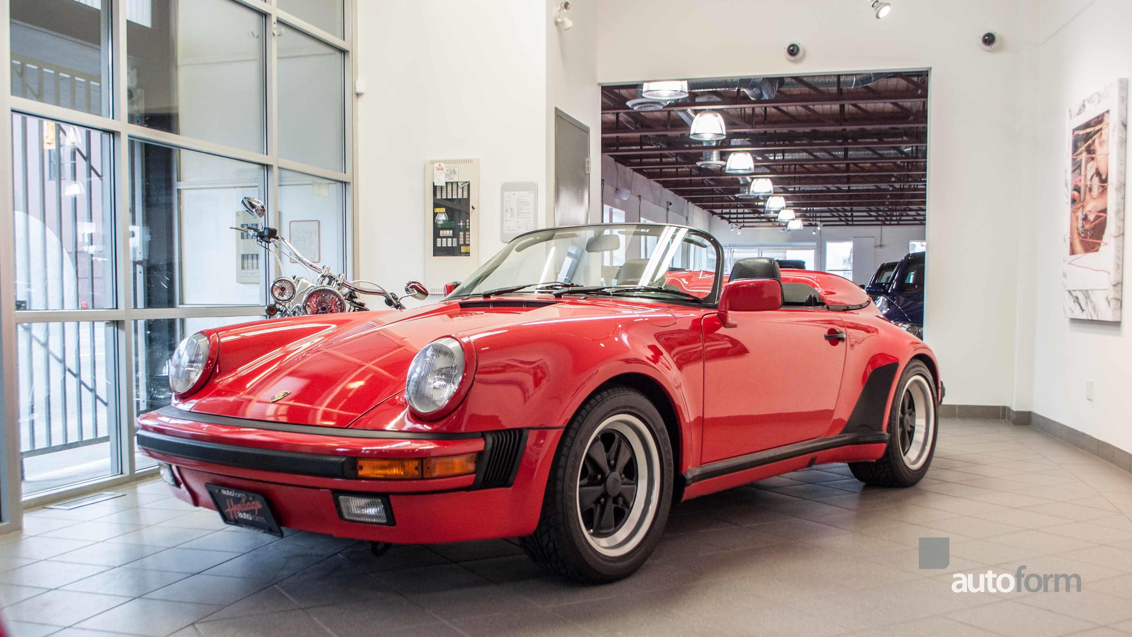 1989 Porsche 911 Speedster For Sale 71054 Mcg