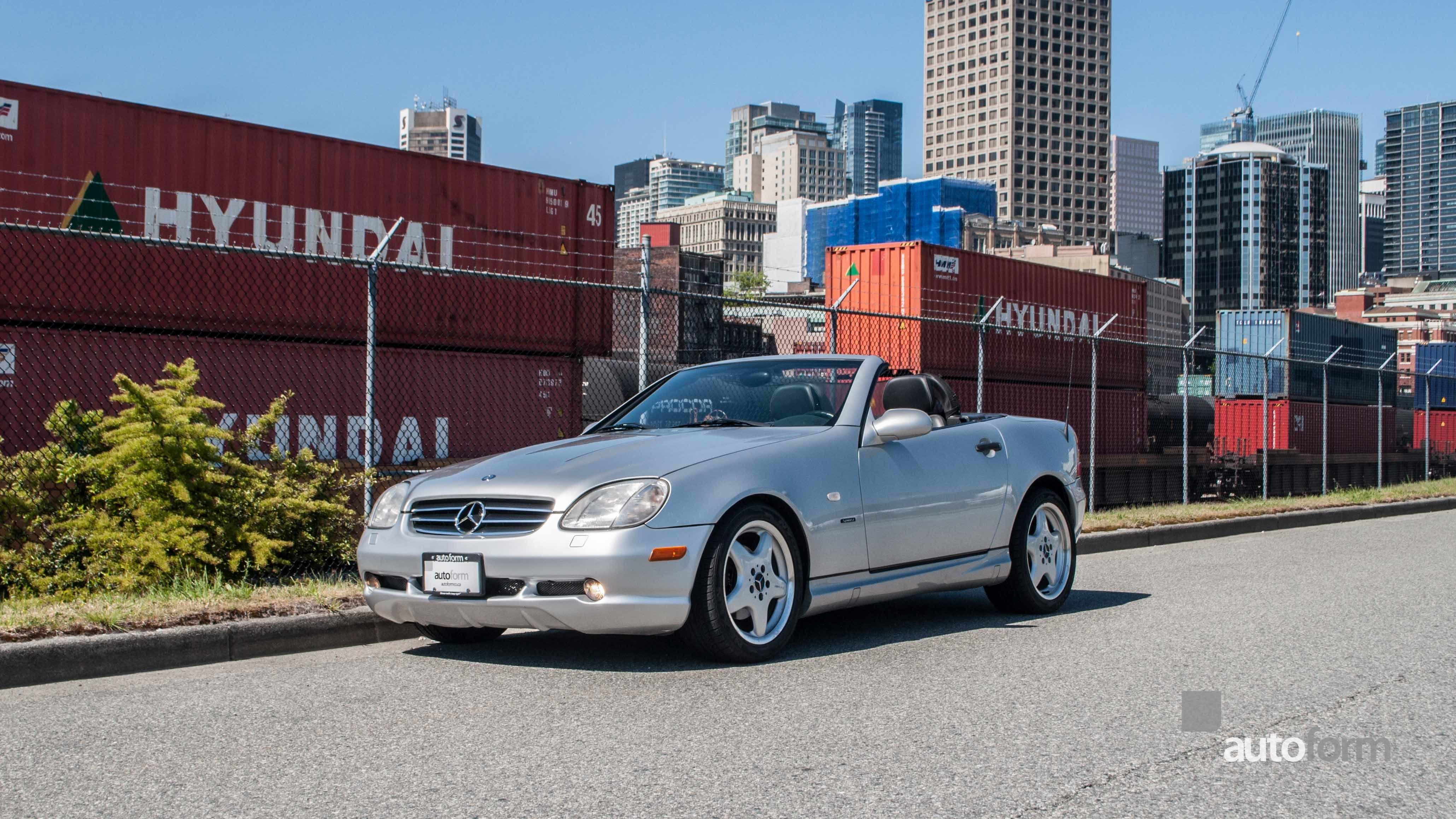 1999 mercedes benz slk230 autoform for Mercedes benz dealer in bakersfield ca