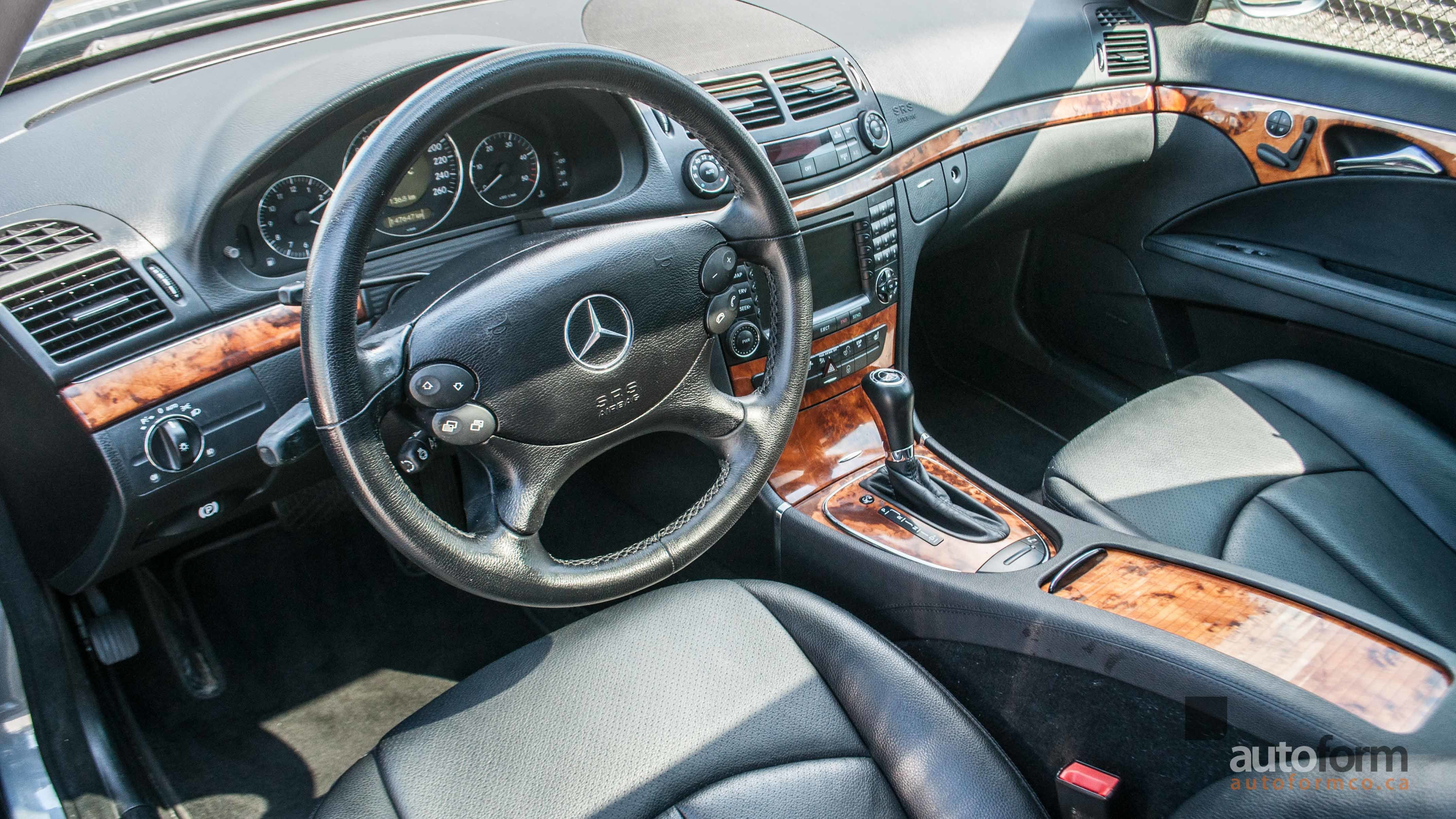 mechanical data details mercedes specifications class engine dimensions benz and e technical