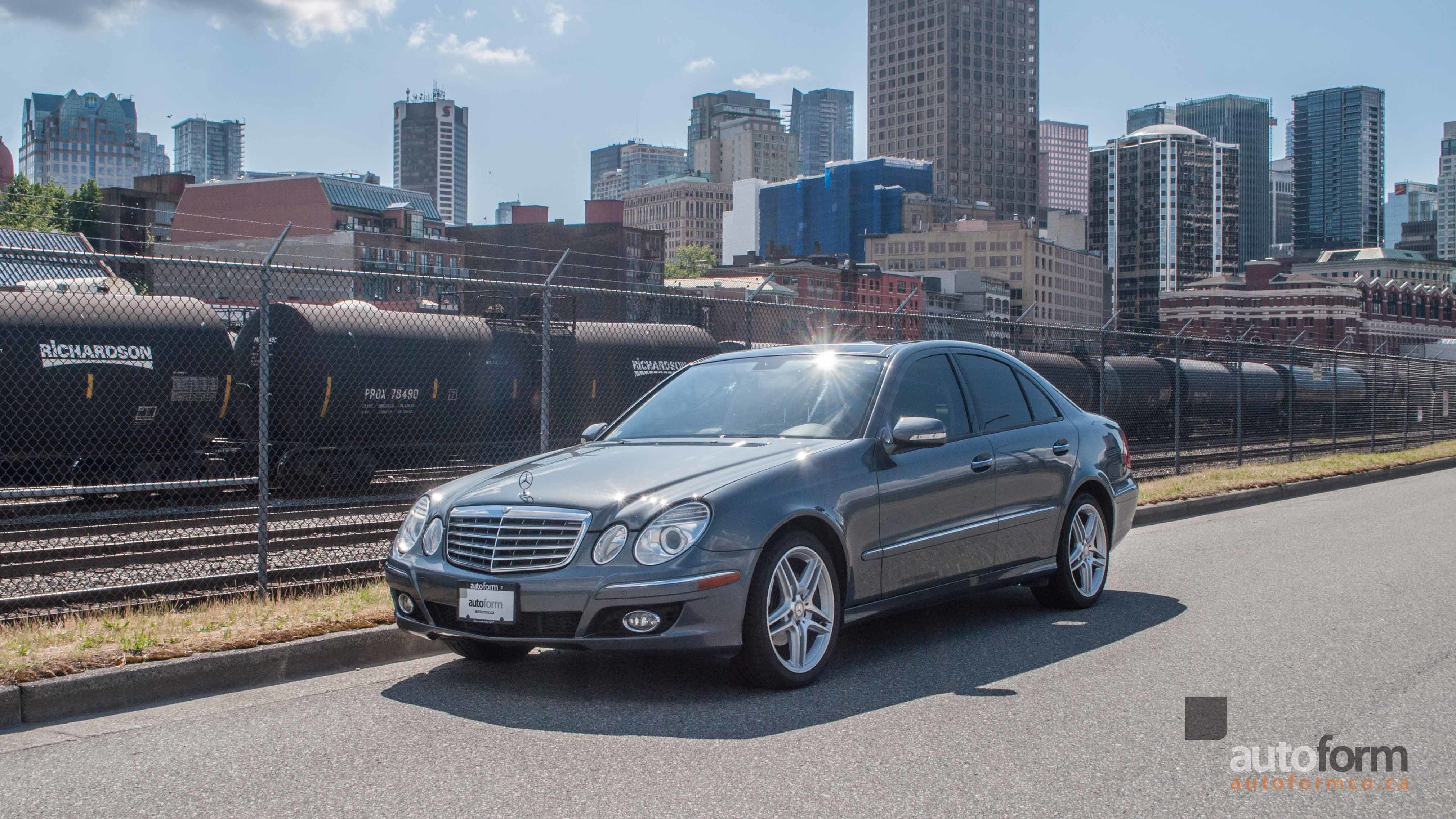 performance saloon the behind benz e wheel review class driving mercedes and