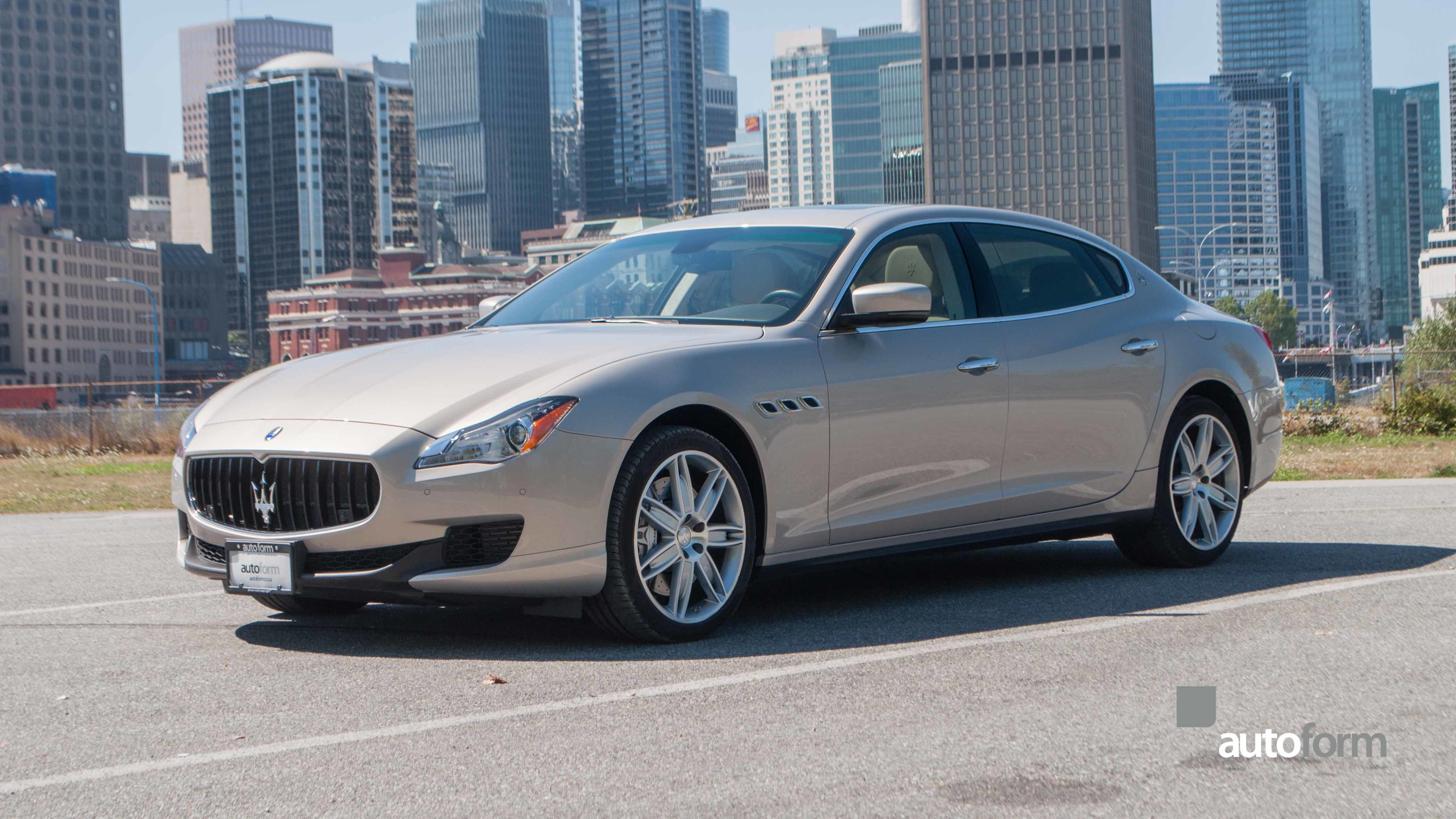 2014 maserati quattroporte gts autoform. Black Bedroom Furniture Sets. Home Design Ideas