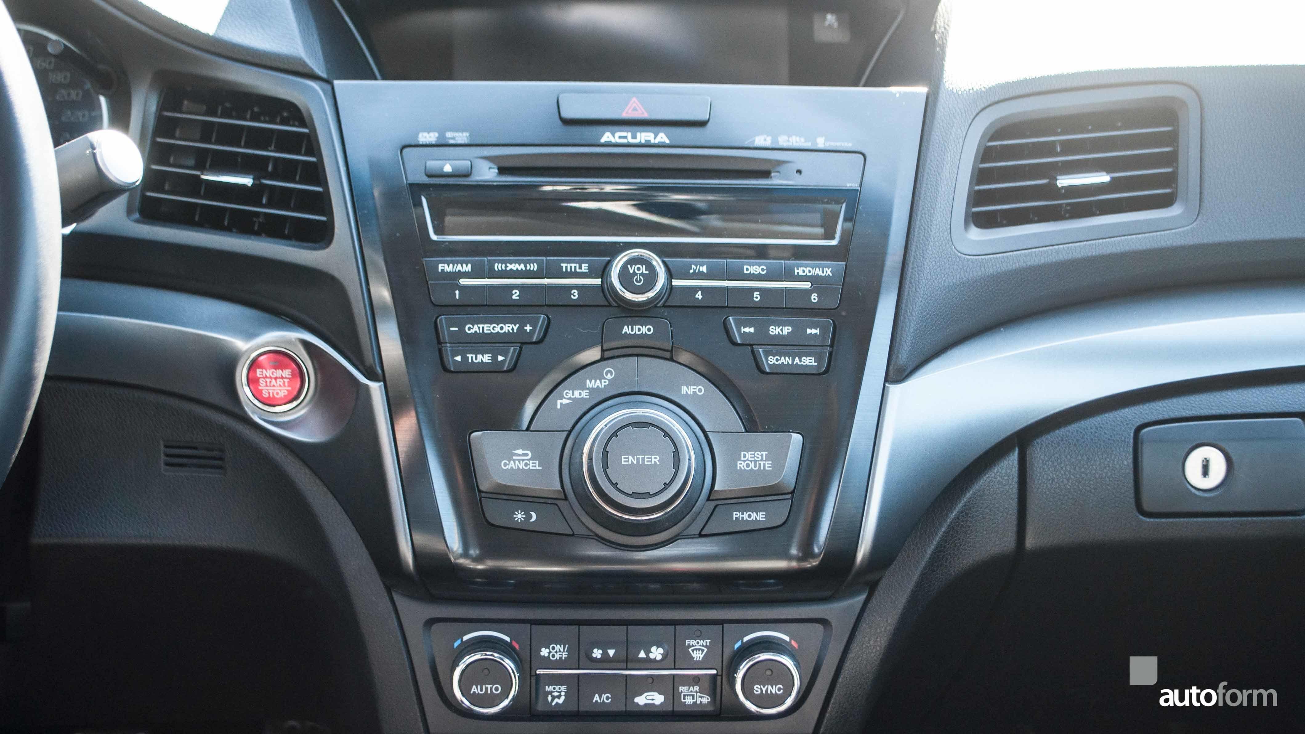 2014 Acura Ilx Dynamic W Navi Autoform