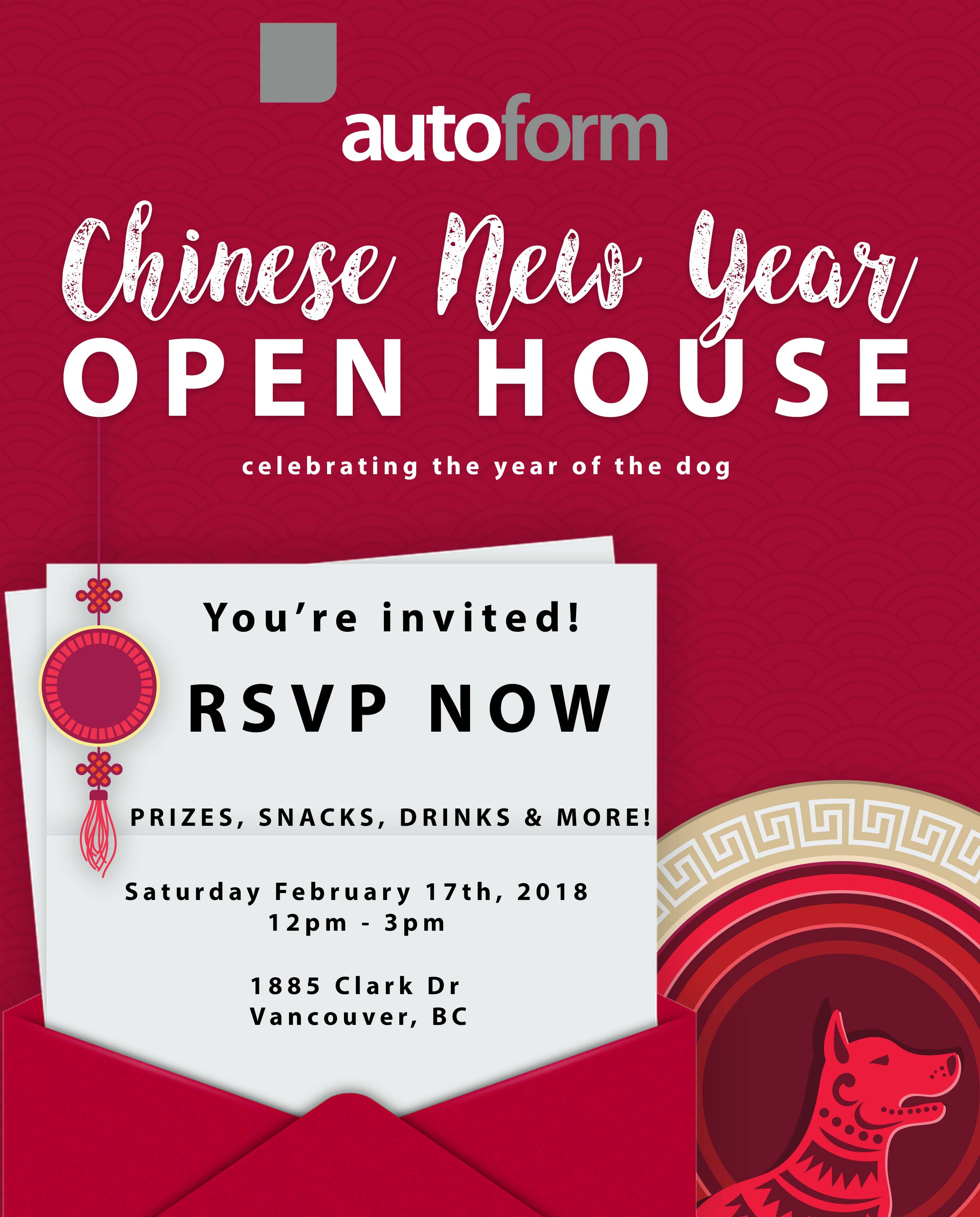Chinese New Year Autoform Open House