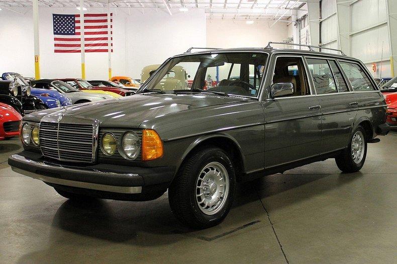 1981 mercedes 300td wagon