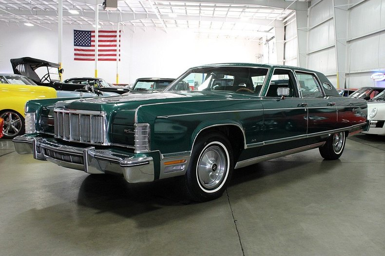 1976 lincoln continental my classic garage. Black Bedroom Furniture Sets. Home Design Ideas