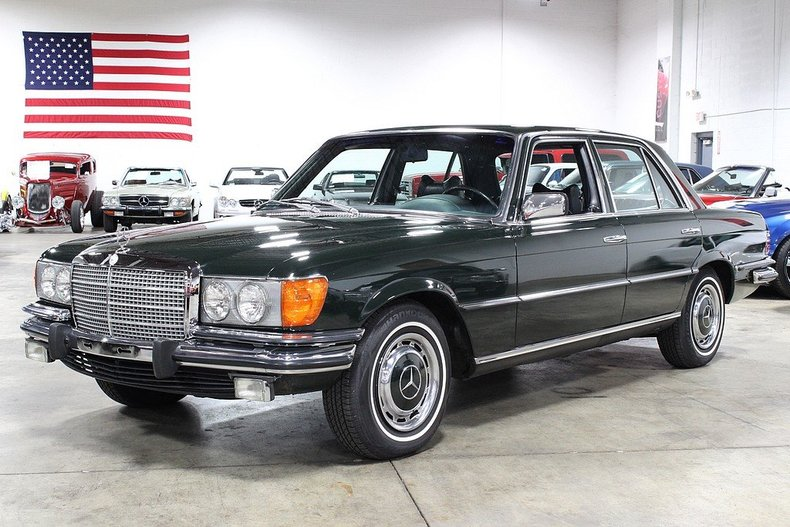 1973 mercedes benz 450 se gr auto gallery Fors Taurus Ignition Wiring Diagram at Wiring Diagram For 1973 Mercedes450se