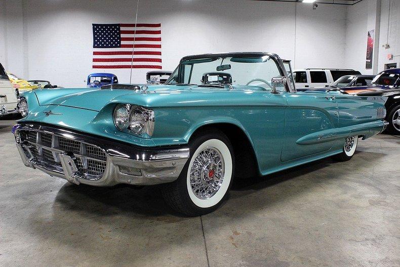 1960 Ford Thunderbird Gr Auto Gallery