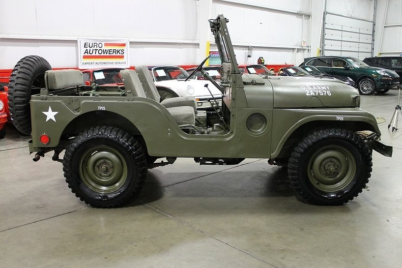 1955 Willys Military Jeep | GR Auto Gallery on willys wiring schematics, willys radiators, willys cj3a wiring, willys truck wiring diagram, willys jeep wiring diagram, willys seat, willys cj2a, willys brakes,