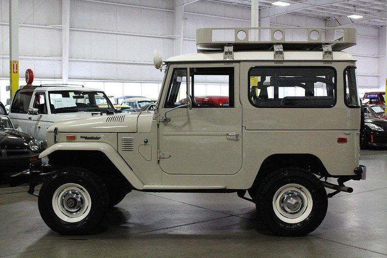 1974 Toyota Land Cruiser My Classic Garage