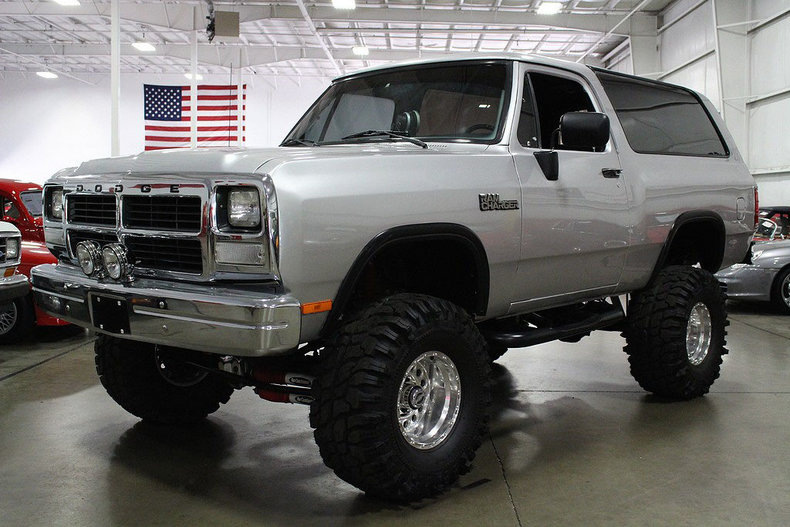 1991 Dodge Ramcharger My Classic Garage