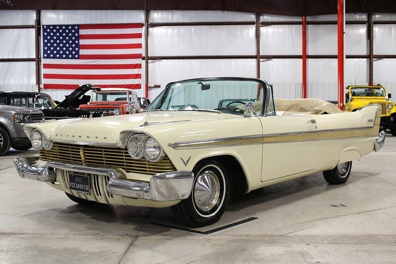 1957 plymouth models
