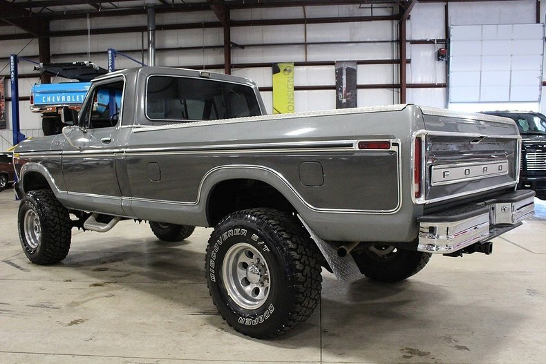 Ford F Interior Paint