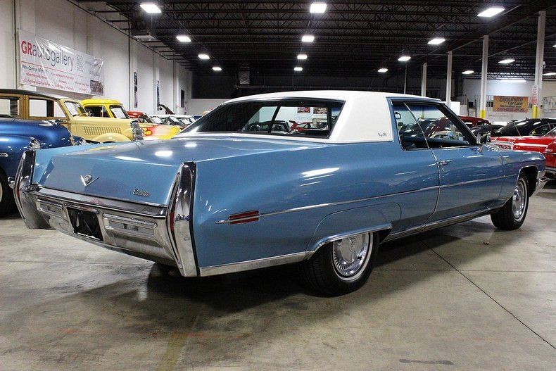 1972 Cadillac Coupe Deville Gr Auto Gallery