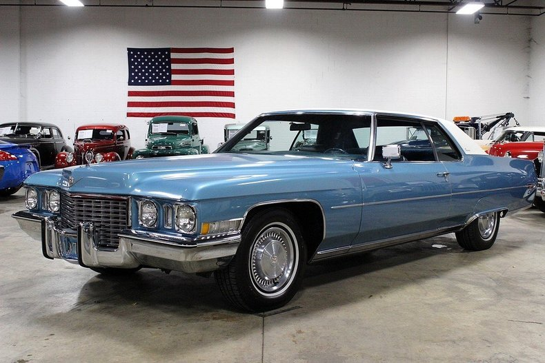 1972 Cadillac Coupe DeVille | GR Auto Gallery