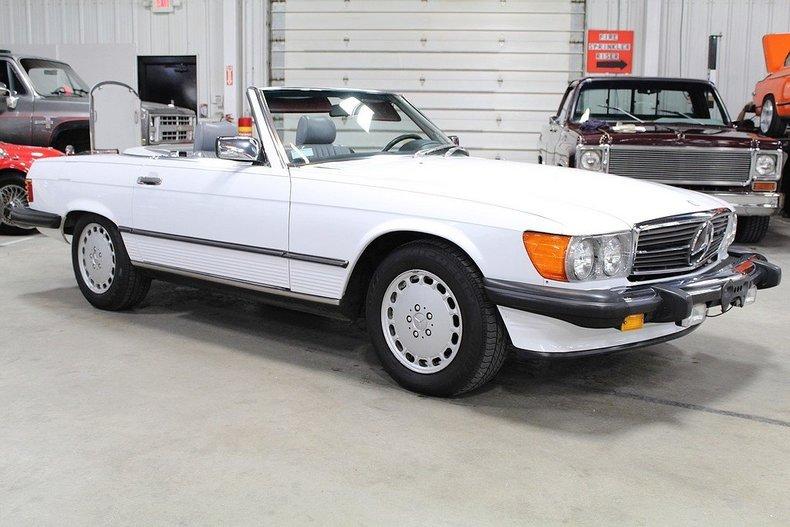 1987 Mercedes Benz 560sl Gr Auto Gallery