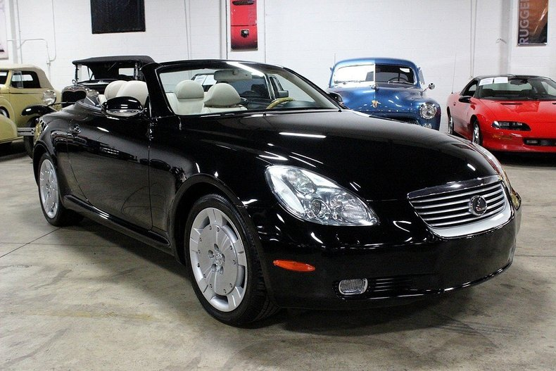 2003 lexus sc430 for sale 44628 mcg. Black Bedroom Furniture Sets. Home Design Ideas