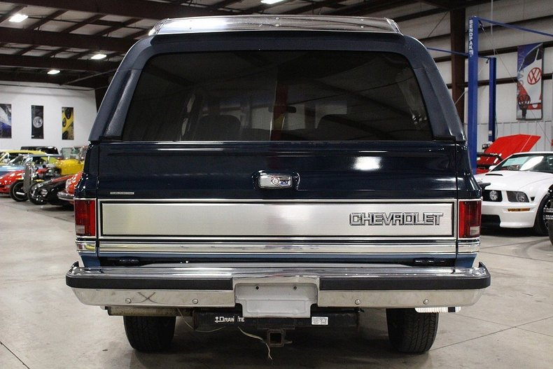 1987 1987 Chevrolet Blazer For Sale