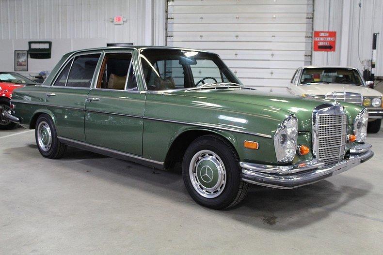 1968 mercedes 280 s