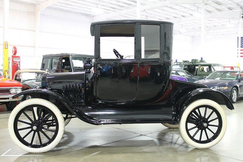 Ford Dealer Grand Rapids >> 1918 Ford Model T Pillarless Coupe | GR Auto Gallery