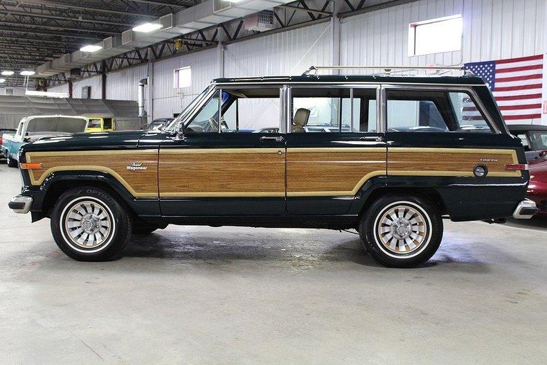 1985 jeep grand wagoneer gr auto gallery. Black Bedroom Furniture Sets. Home Design Ideas