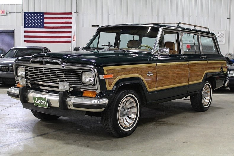 1985 Jeep Grand Wagoneer | GR Auto Gallery