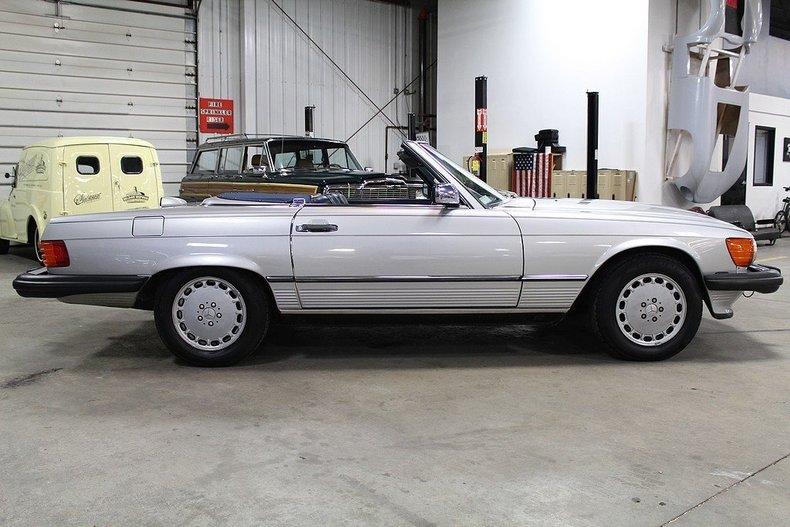 1986 Mercedes Benz 560sl Gr Auto Gallery