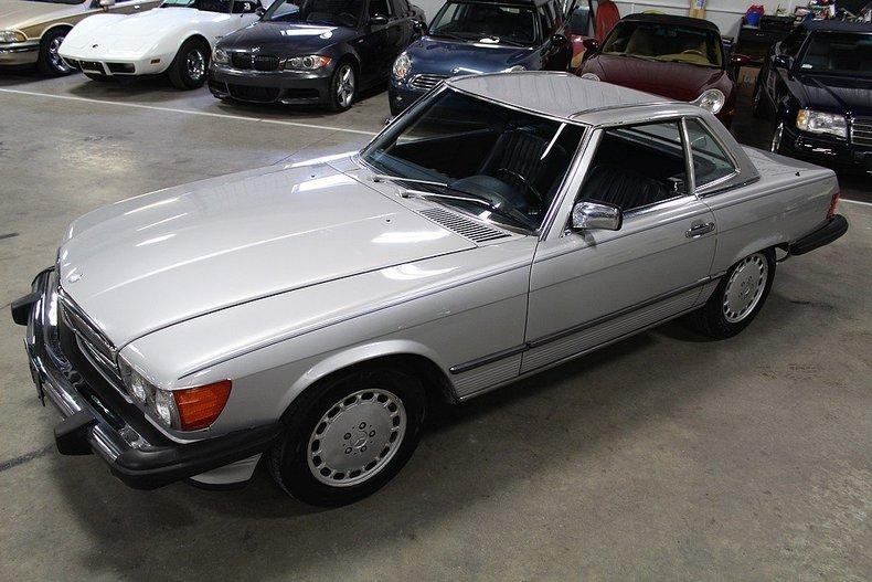 1986 Mercedes Benz 560sl For Sale 62818 Mcg