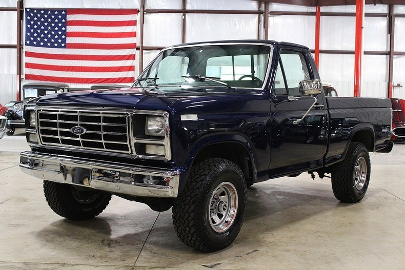 1986 ford f150 my classic garage. Black Bedroom Furniture Sets. Home Design Ideas
