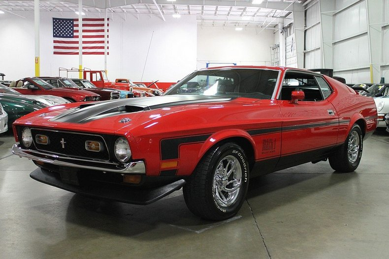 1972 Ford Mustang Gr Auto Gallery