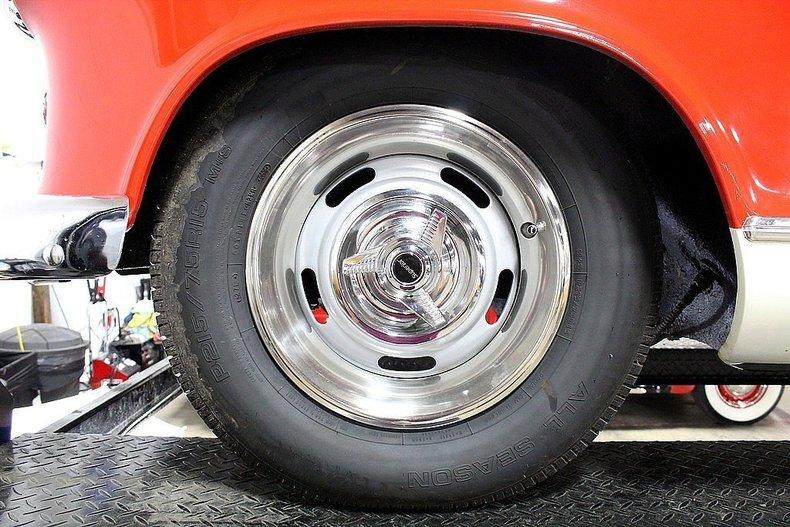 1955 Nash Super Rambler --: 1955 Nash Super Rambler  44007 Miles Red Coupe 3.2 Liter 6 4 Speed Automatic