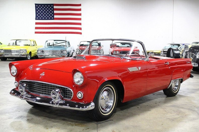 1955 ford thunderbird my classic garage. Black Bedroom Furniture Sets. Home Design Ideas