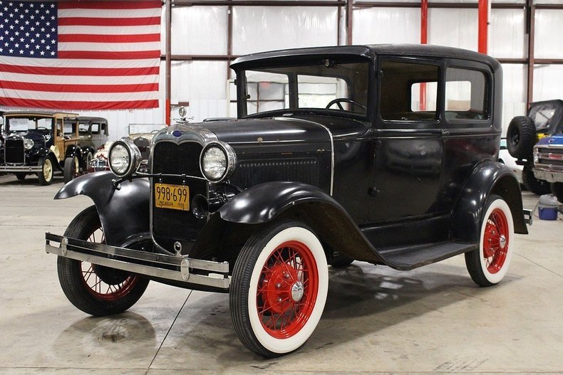 1930 Ford Model A -- 1930 Ford Model A  85618 Miles Black Coupe 201ci Inline 4 Manual