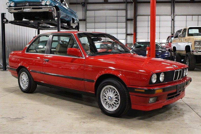 1989 bmw 325i for sale 73745 mcg. Black Bedroom Furniture Sets. Home Design Ideas