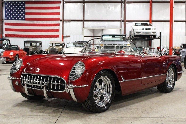 4126160b200d12 low res 1954 chevrolet corvette