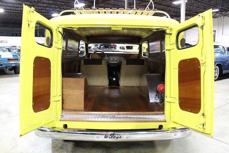 1950 Willys Panel Delivery --: 1950 Willys Panel Delivery  898 Miles Yellow Van 383ci V8 350 Turbo 3 Speed Auto