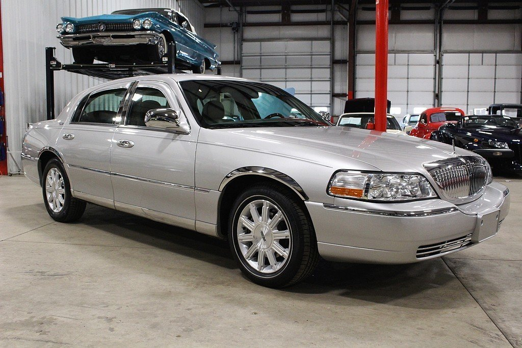 2009 lincoln town car for sale 79238 mcg. Black Bedroom Furniture Sets. Home Design Ideas