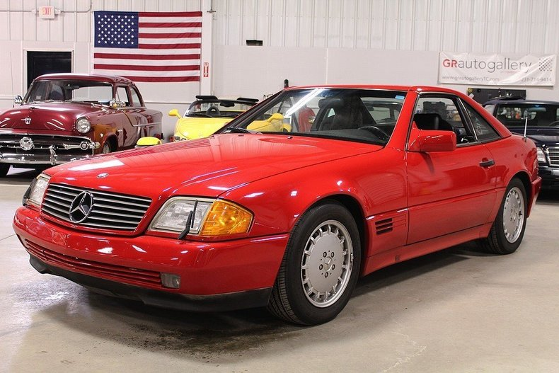 4316956e6638fc low res 1991 mercedes benz 350sl