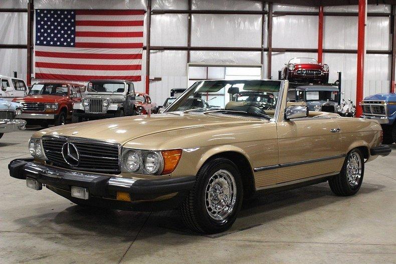 440085213fef90 low res 1981 mercedes benz 380sl