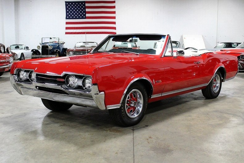 463425a98adf60 Low Res 1967 Oldsmobile Cutlass 442 Convertible