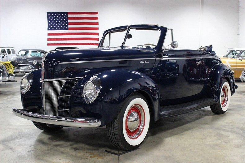464599cd4df8a3 low res 1940 ford convertible