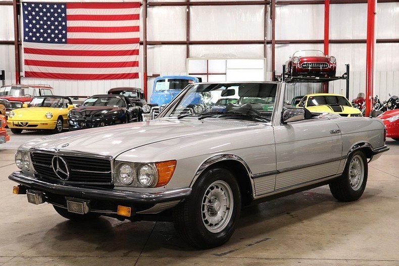 4765083e74ad38 low res 1976 mercedes benz 280sl