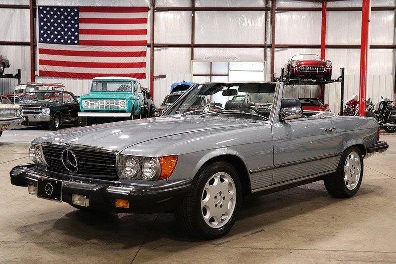 499456f5032da3 low res 1981 mercedes benz 380sl