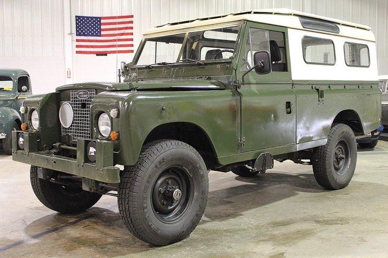 1971 Land Rover Series IIA | GR Auto Gallery