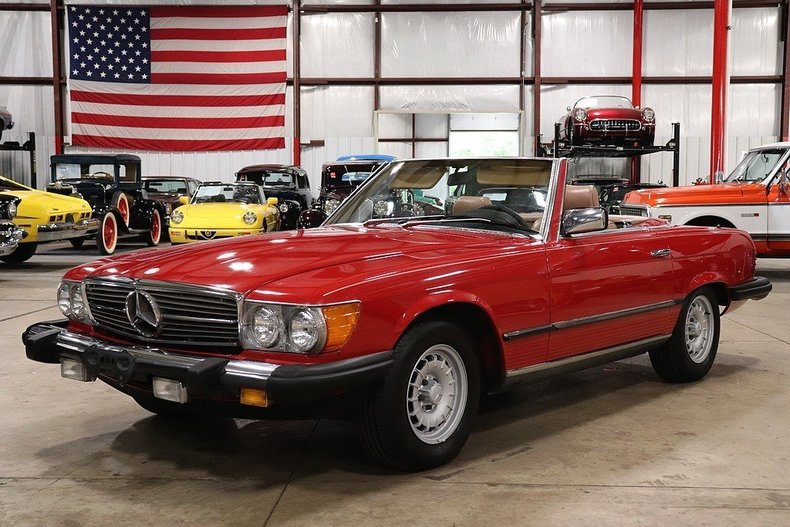 488663f29db6ce low res 1985 mercedes benz 380sl