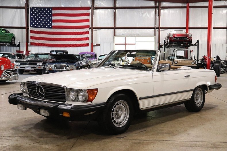 506745d98ddbb4 low res 1981 mercedes benz 380sl